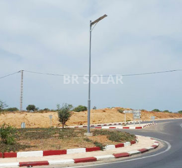 40W All in One Solar Street Light في الجزائر